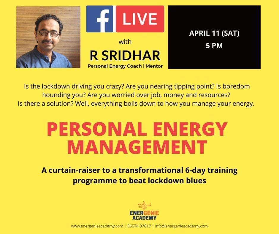Personal energy management