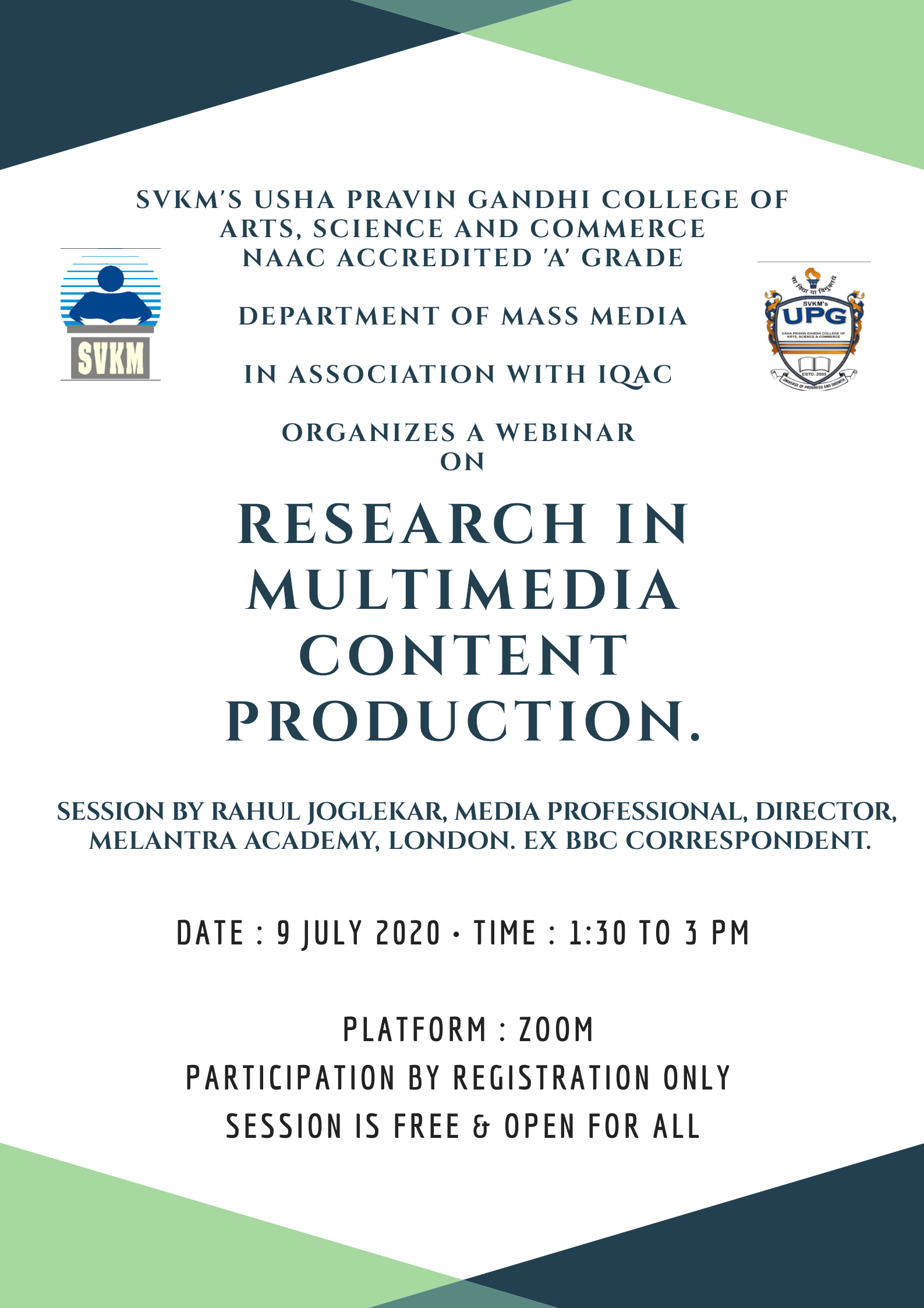 Research In Multimedia Content Production